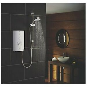 Mira Sport Max with Airboost Manual Electric Shower White 9kW Model: 1.1746.007