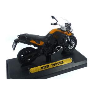 MOTORMAX 76205-451 BMW F800GS Black/Orange Scale 1:18 Model Motorcycle New !°