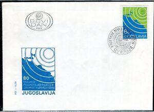 2070b - Yugoslavia 1984 - 80 Years Radiotelegraf in Montenegro - FDC