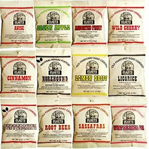 CLAEY'S OLD FASHIONED HARD CANDY -(1)  6oz BAG - MULTIPLE FLAVORS!