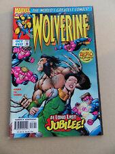Wolverine 117 . Operation Tolerance Zero / Jubilee App . Marvel 1997 . VF