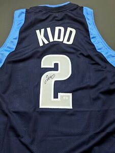 Jason Kidd Dallas Mavericks Autographed Signed Jersey XL COA
