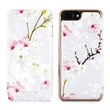 OFFICIAL Ted Baker SS17 AMMAA Mirror Folio iPhone 8 Plus Case Oriental Blossom
