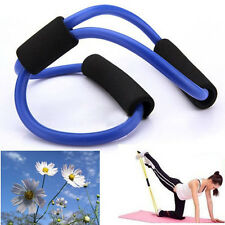 Resistance Training Exercise Muscle Band Tube Equipment For Yoga Multicolor