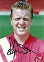 Steve Nicol Official Liverpool FC Hand Signed Photo Season 1991-92 Very Rare