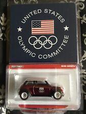 Hot Wheels  Mini Cooper Super Rare US OLYMPIC COMMITTEE 2012 RLC 🔥MINTY🔥