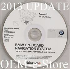 1997 to 2002 BMW 7 5 3 Series M3 M5 X5 Navigation CD Map #3 Cover TX OK AR LA