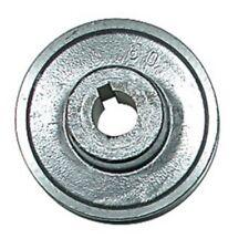 Poulies en aluminium. Axe 24 mm Poulie 80 mm