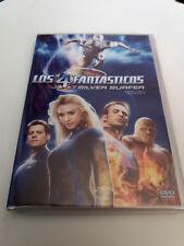 """DVD """"LOS 4 CUATRO FANTASTICOS Y SILVER SURFER"""" COMO NUEVO TIM STORY JESSICA ALBA"""