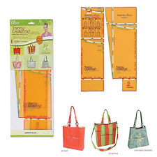 Clover Trace 'N Create Bag Templates Florida Tote Collection With Nancy Zieman