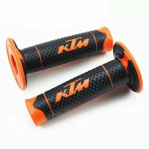 Manopole in gomma KTM per manubrio moto Cross, Pitbike, Enduro, Trial, MX, Duke