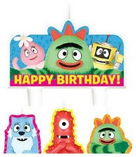 New Yo Gabba Gabba (4pc) Birthday Candle Set Kids Birthday Party Supplies~