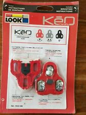 LOOK KEO Red Cycling Clipless Road MTB Bicycle Pedal Cleats NOS