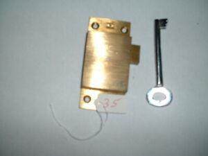 Vintage  lock,wardrobe Lock, Cupboard Lock, Cabinet  old stock