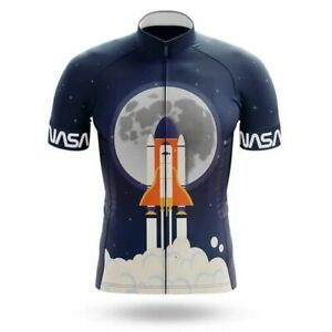 NASA Cycling Jersey V10