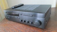 Yamaha RX-385 AM/FM Stereo Receiver and Factory Remote Bundle Tested and Working