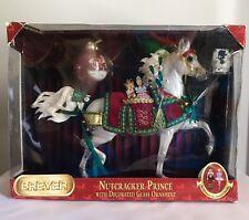 Breyer Nutcracker Prince Arabian Horse With Ornaments Christmas Set