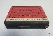 VECCHIA SCATOLA PER LASTRE FOTOGRAFICHE M.CAPPELLI  1906