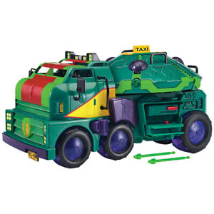 TMNT Turtle Tank of  Evolution of Teenage Mutant Ninja Turtles Van Vehicle