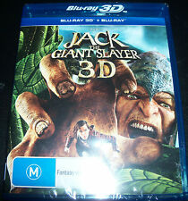 Jack The Giant Slayer 3D + Bluray (Australia) Blu-ray - New