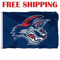 Elmira Jackals Logo Flag ECHL Hockey League 2018 Banner 3X5 ft