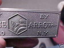 Pierce Arrow 3-D Body Builders Data Plate Buffalo New York 1903 - 1930s