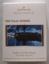 Hallmark 2012 The Polar Express Train Believe in the Magic Christmas Ornament