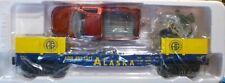 K-Line 661-1011 Alaska Flat Car w/Die-Cast Ford Truck (Red) & Figures