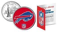 BUFFALO BILLS * Officially Licensed * NFL New York U.S. State Quarter Coin w/COA