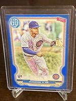 2020 Topps Gypsy Queen Nico HoernerBlue SP Rookie /150 #201 Chicago Cubs RC