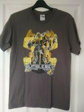 Gildan Brown Transformers Bumblebee T Shirt Size Small