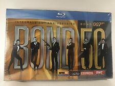 James Bond Collection complète Blu-ray  Intégrale 50ème Anniversaire  Neuf