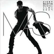 Ricky Martin M.A.S. Musica + Alma + Sexo CD Sealed !