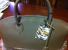 Genuine Leather Large Bag From Carla Ferreri, Made From Italia