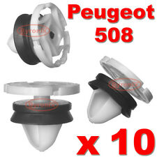 PEUGEOT 508 DOOR CARD PANEL TRIM CLIPS HOGRING INTERIOR