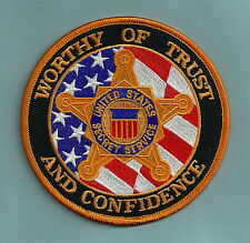 UNITED STATES SECRET SERVICE TRUST & CONFIDENCE POLICE PATCH