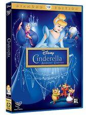 CINDERELLA assepoester Cendrillon : WALT DISNEY dvd DIAMOND EDITION nieuw neuf