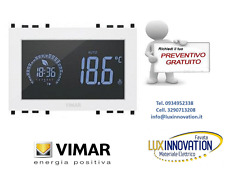Cronotermostato touch vimar 02955.B 3M 120-230V bianco Vimar VIW02955.B