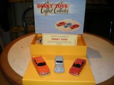 Coffret collector Junior 2cv 404 R8 Neuf 100J Dinky toys Atlas 1/43 +certificat