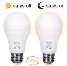 Sensor Lights Bulb Dusk to Dawn LED Light Bulbs Smart Lighting Lamp 7W E26/E27 A