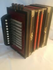 Rigoletto Accordion Made In Germany Working Condition In Vintage Box