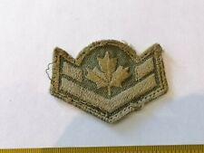 ESTATE Dark Green Cloth Army Patch / Badge w/ Maple Leaf