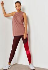 Nike Womens Essential Vest Training Tank Top Asymmetric Size S Brand New