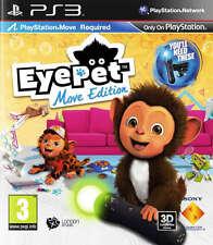 EYEPET MOVE EDITION PS3 gioco di spostamento (in ottime condizioni)