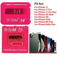 New RSIM15 Nano Unlock Card for iPhone 11/11 Pro Max/XR/8 Plus 4G iOS13.5.1 Lot