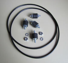 Wurlitzer 3400, 3410, 3460, 3500, 3510, 3560 Turntable Motor Mount  & Belt Set