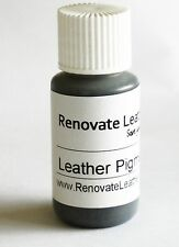 Leather Gloss Pigment Paint Colour SILVER 15ml Repair or touch up, enhance