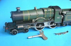Hornby Series O gauge 1930s tinplate/clockwork County of Bedford Locomotive