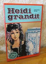 Spyri Heidi Grandit deux coqs d'or 1980