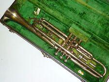 Vintage Buescher 232 LP Elkhart. Ind. USA Gold plated Trumpet